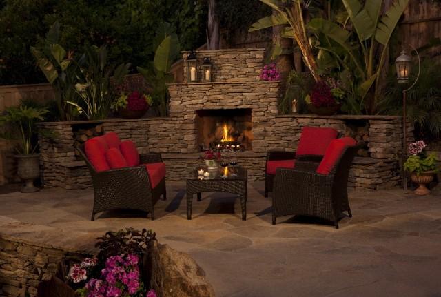 Outdoor Fireplace Plans Diy Home Design Ideas