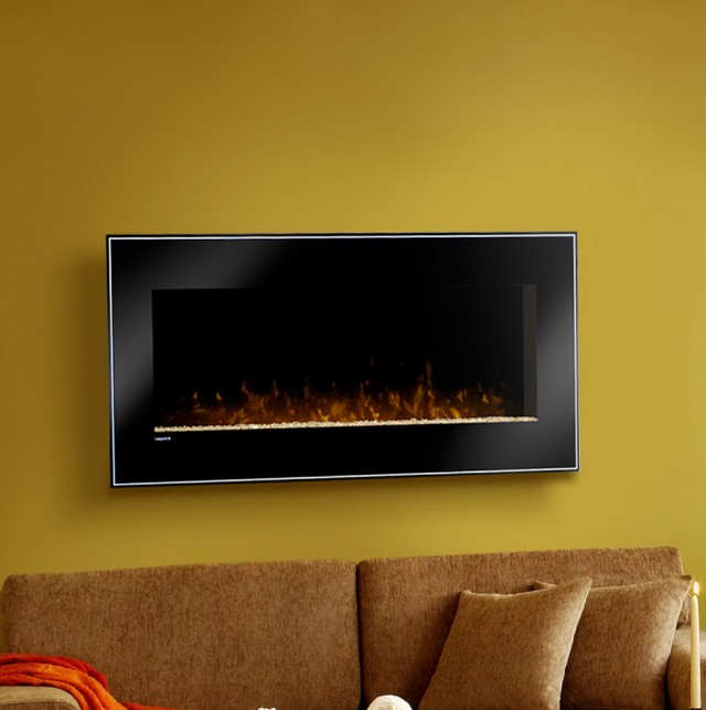 Wall Mounted Electric Fireplace Under Tv | Home Design Ideas
