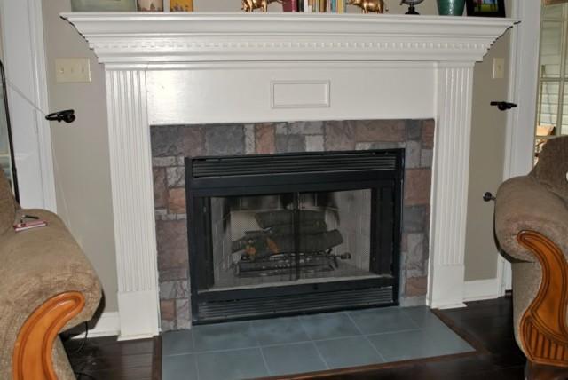 faux fireplace mantel surround home design ideas