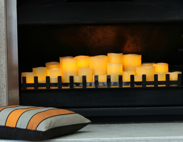 Partylite Fireplace Candle Holder | Home Design Ideas