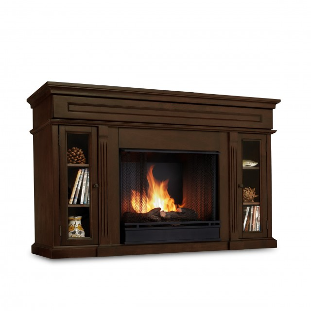 Fireplace Entertainment Center Espresso
