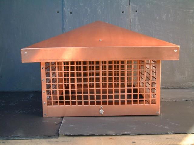 outdoor fireplace spark arrestor