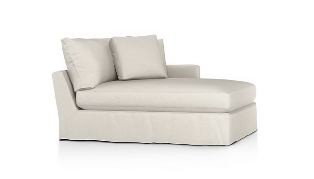 Left Arm Chaise Lounge Slipcovers