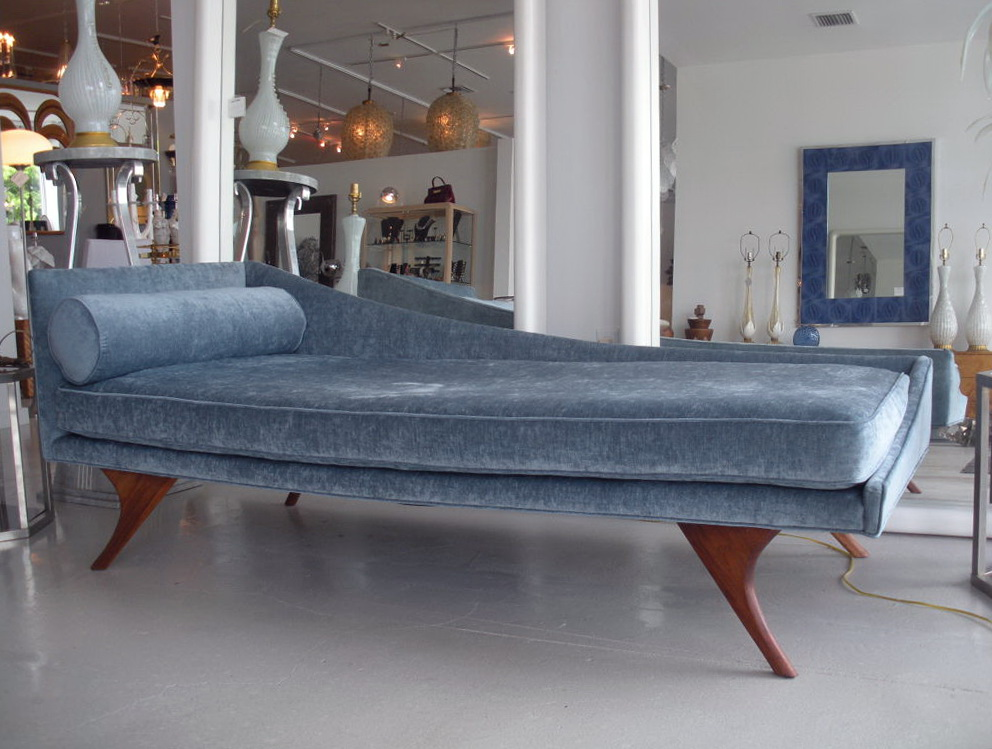 Permalink to Mid Century Modern Chaise Sofa