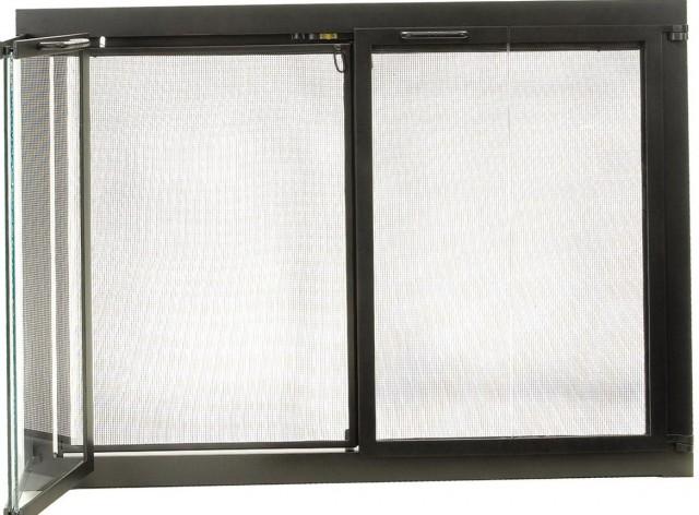 Modern Fireplace Glass Doors