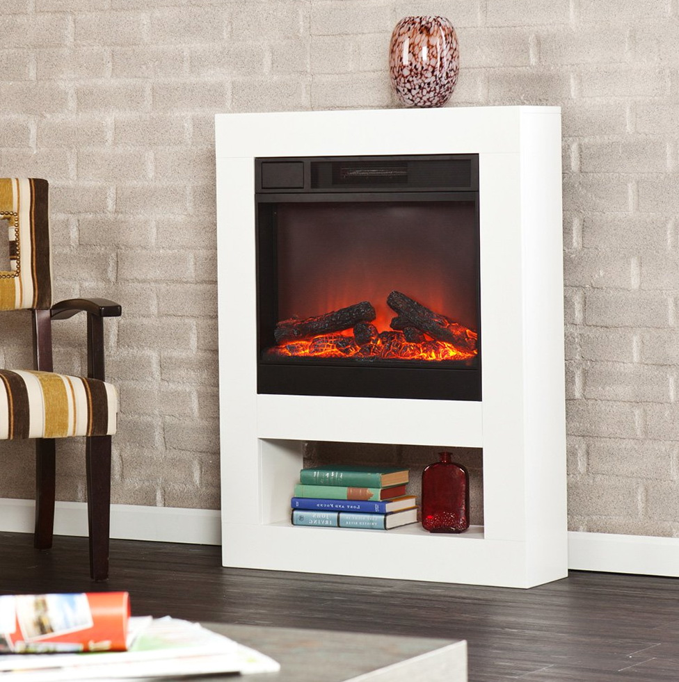 modern free standing electric fireplace - Free Standing Electric Fireplace
