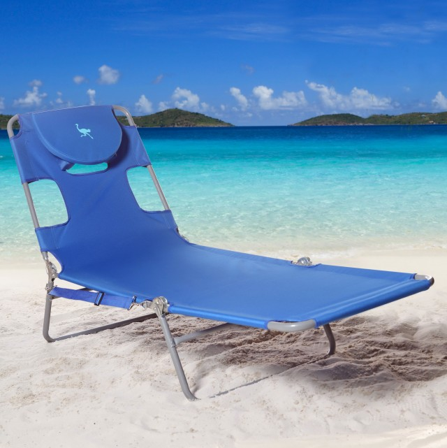chaise in ostrich outdoor chair folding large portable furniture of medium chairs lounge plans size beach lightweight