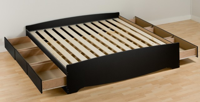 platform bed frame without headboard - Bed Frame Without Headboard