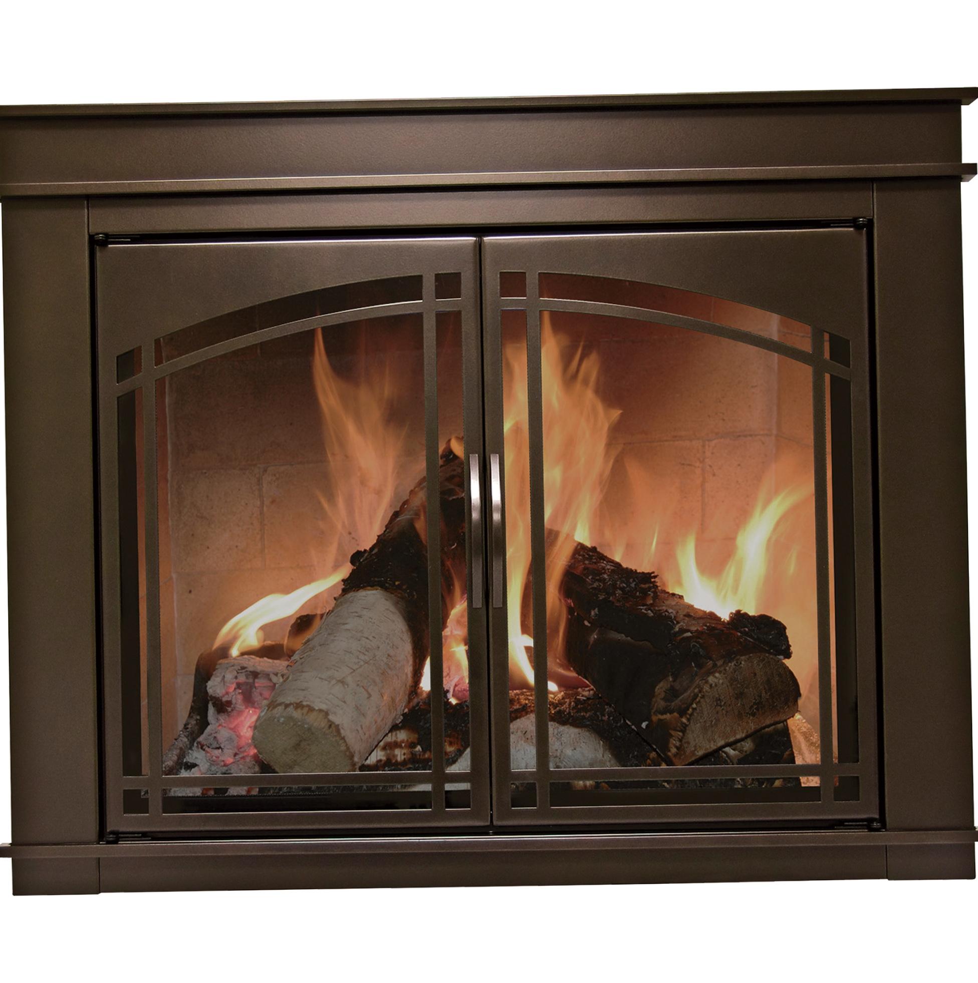 Pleasant Hearth Fireplace Doors Fenwick Home Design Ideas