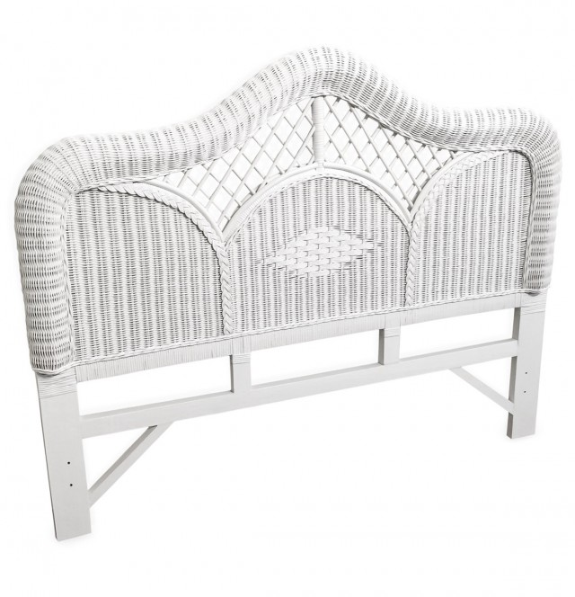 Rattan Headboard Queen Size