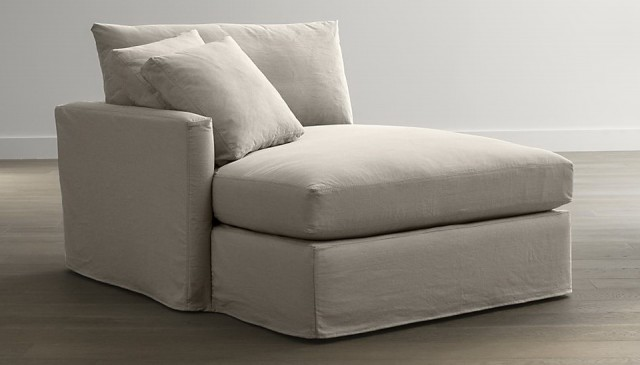 Two Arm Chaise Lounge Slipcover Home Design Ideas