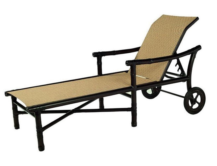 Costco Chaise Lounge Sling Replacement: Sling Chaise Lounge With Wheels