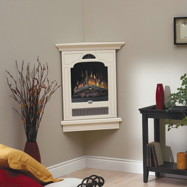 Small Corner Gas Fireplaces