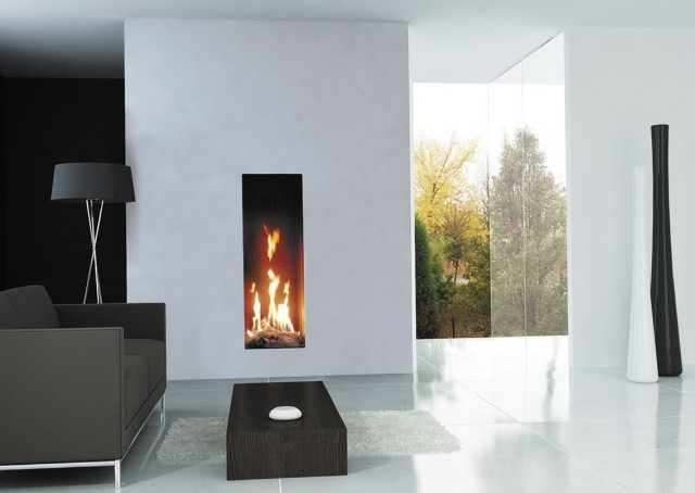 Tall Narrow Electric Fireplace