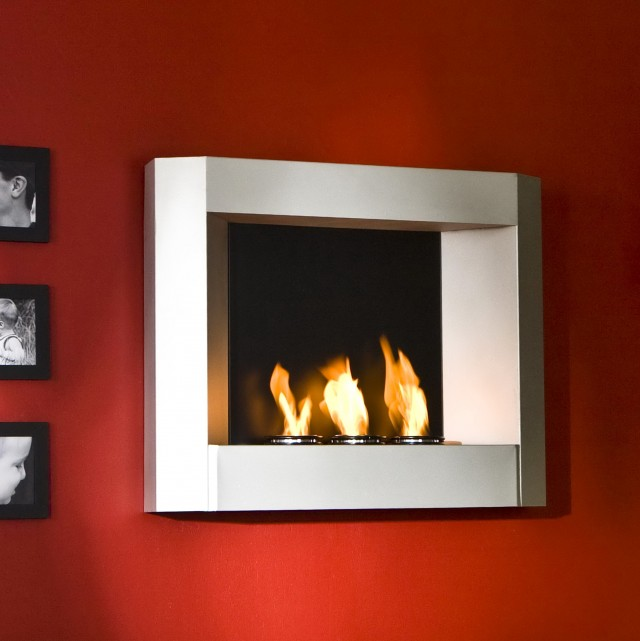 wall mounted gel fuel fireplace - Gel Fuel Fireplace