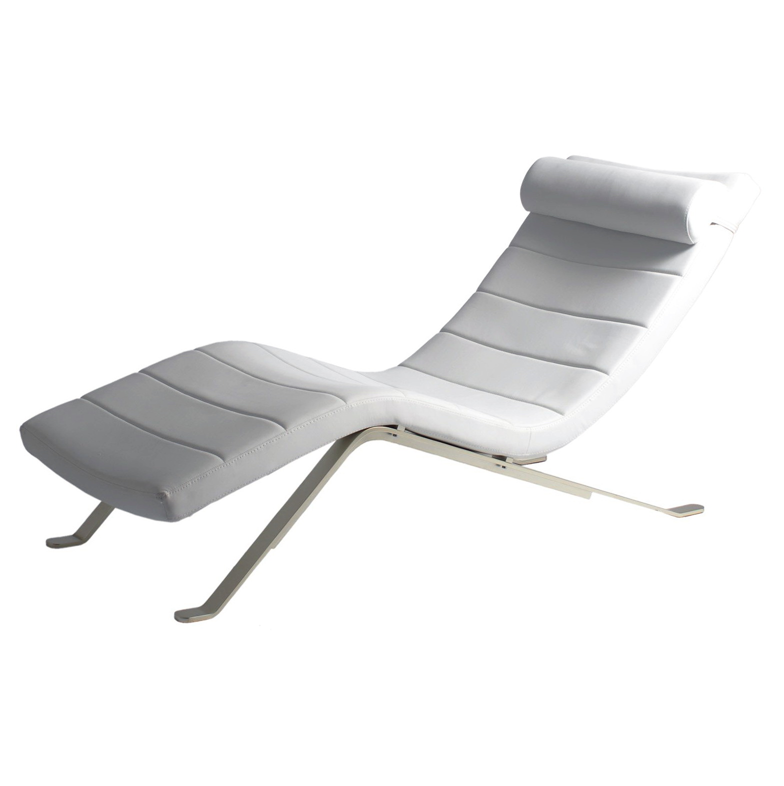 White chaise lounge white chaise lounge with chaise for Best chaise lounge