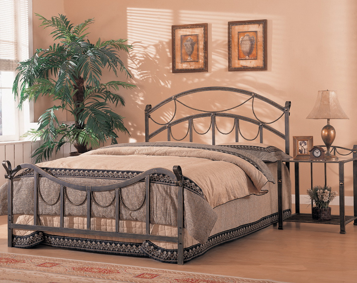 Antique Wrought Iron Headboards Home Design Ideas