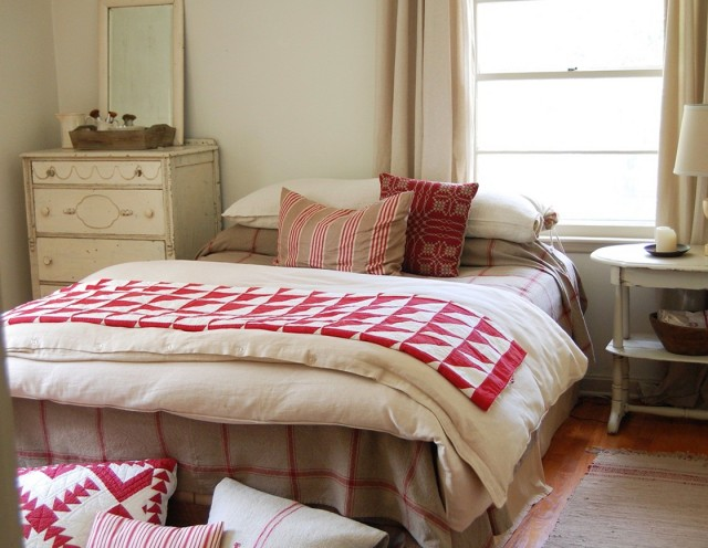 Bed Without Headboard In Front Of Window