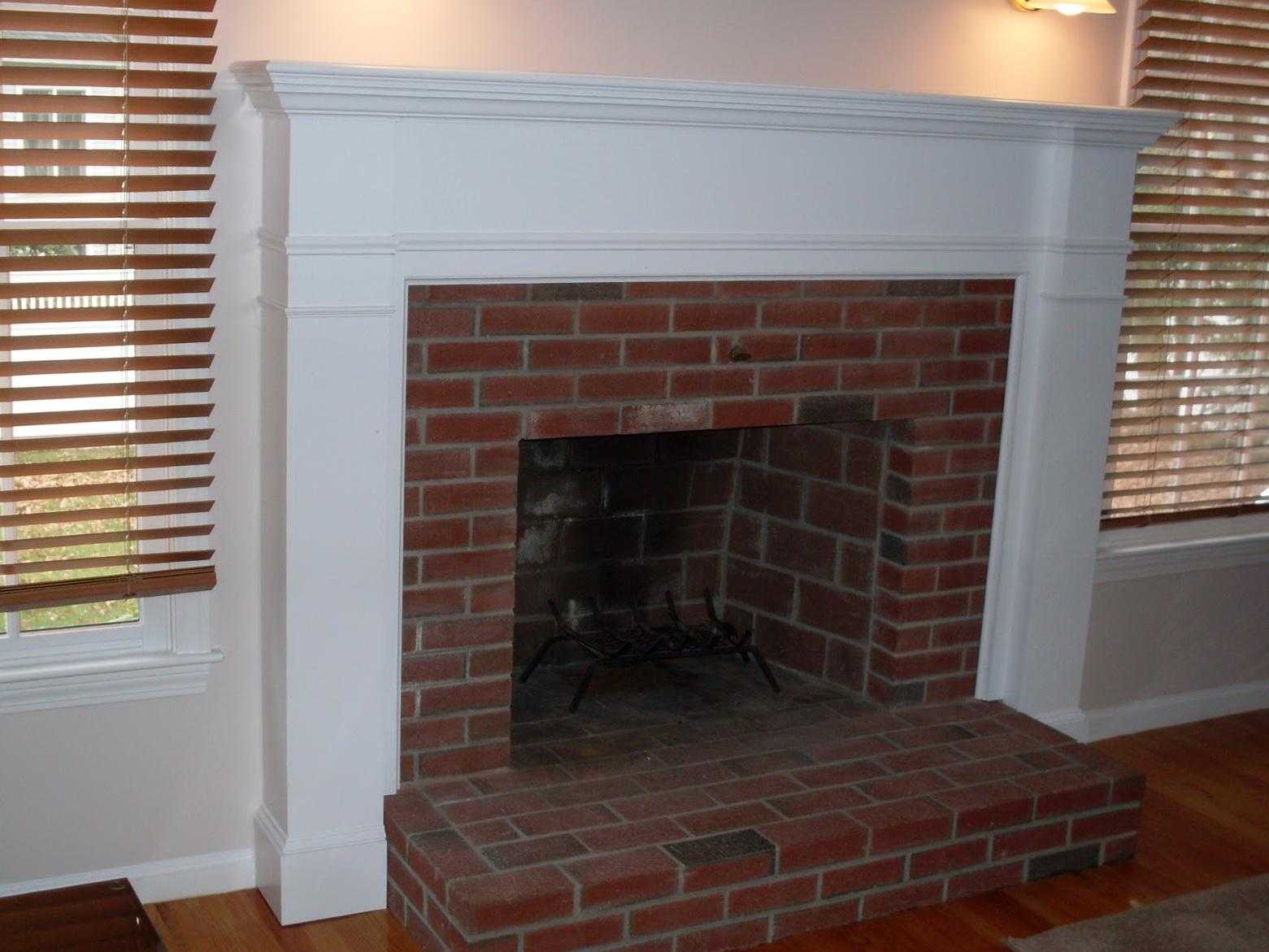 brick for fireplace surround home decorating interior design