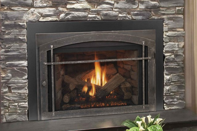 Coal Burning Fireplace Conversion Home Design Ideas