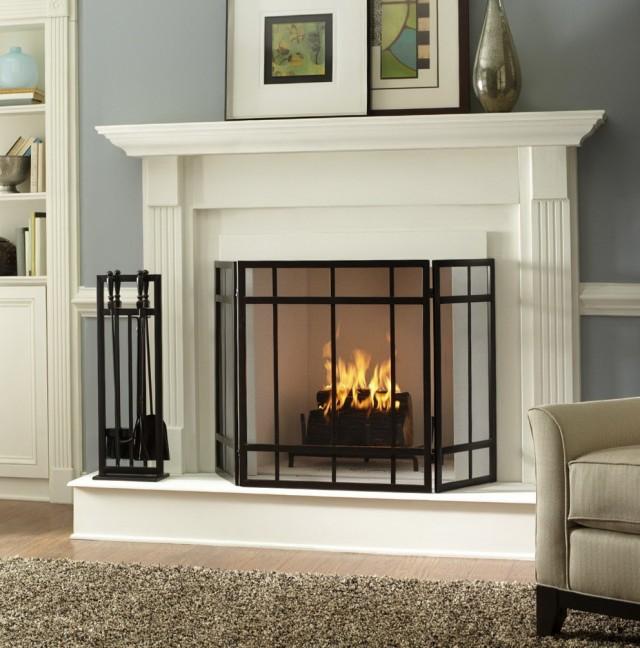 Diy Metal Fireplace Screen