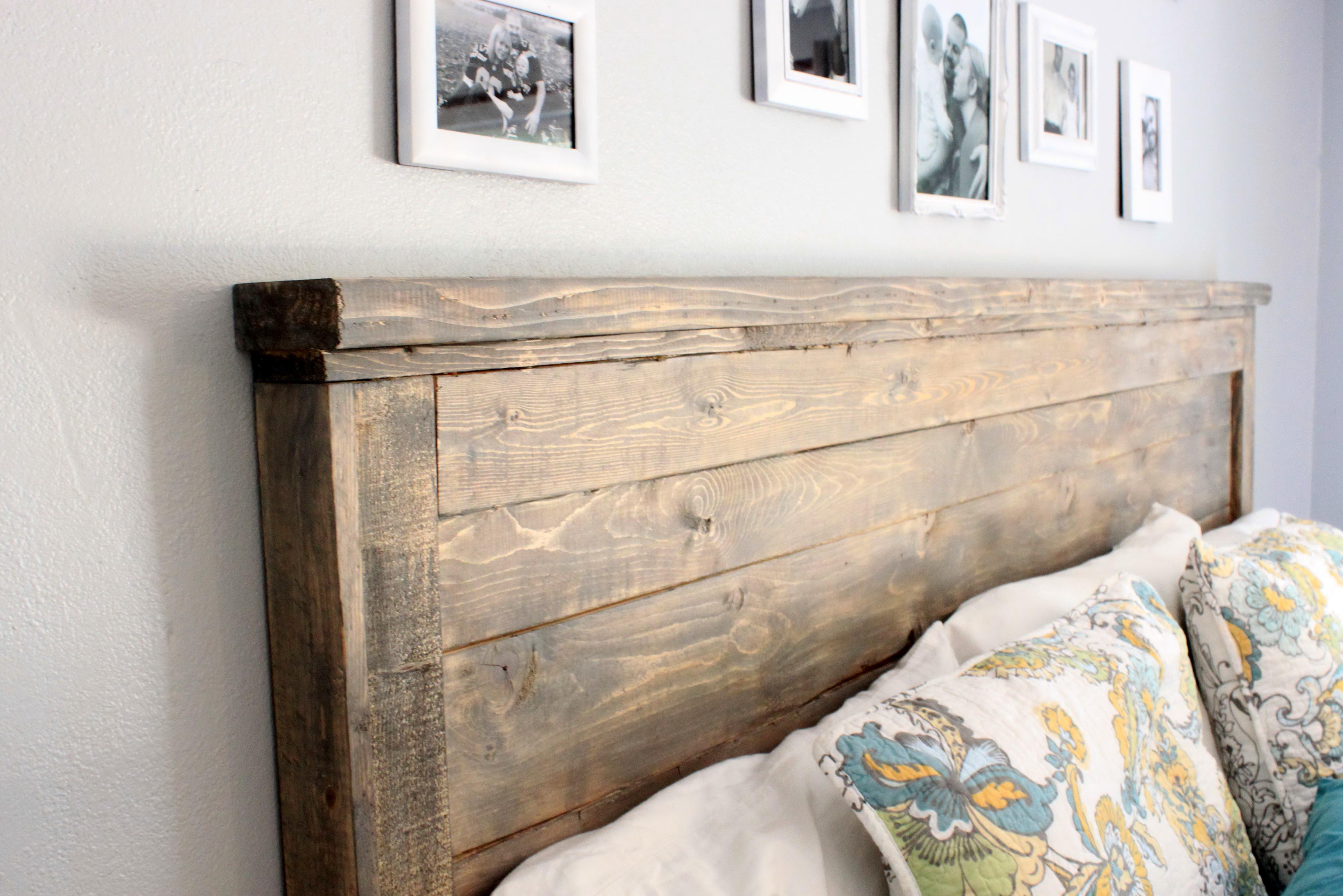 diy wood headboard king size  home design ideas - diy wood headboard king size