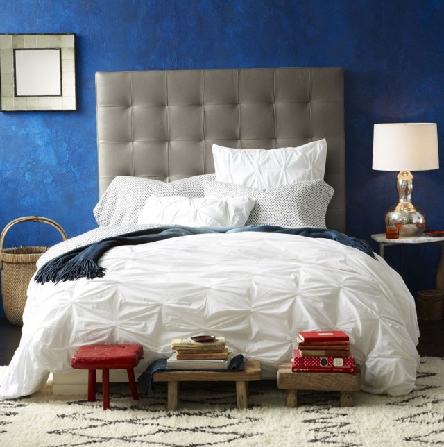 Tall headboard beds white wooden bed with shelf tall headboard using white bedding as well as - Extra tall queen bed frame ...