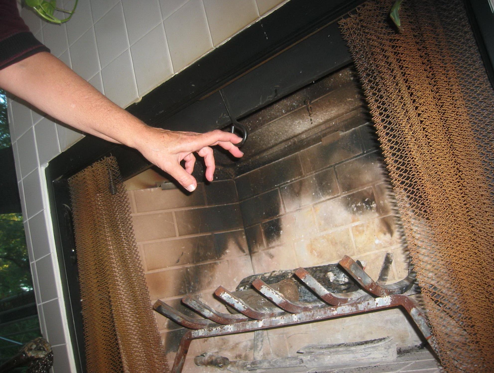 Fireplace Damper Clamp Gas Logs Home Design Ideas