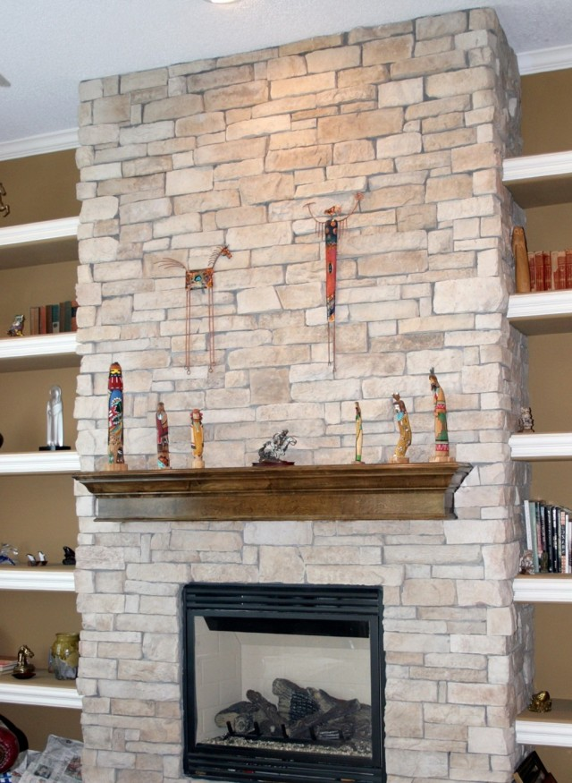Fireplace Refacing Kits Stone | Home Design Ideas