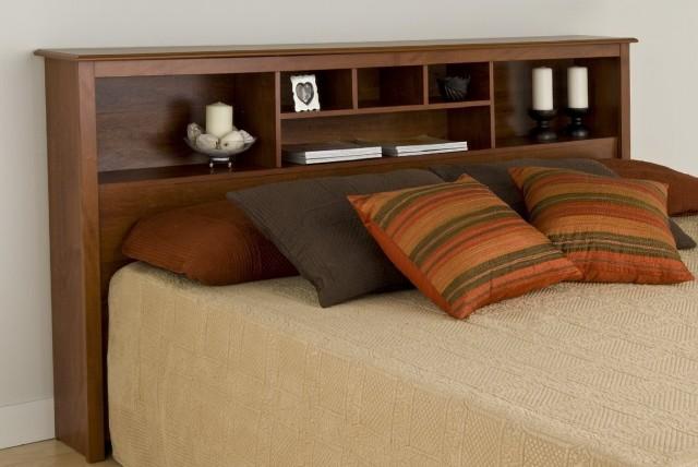 Full Size Bookcase Headboard Home Design Ideas