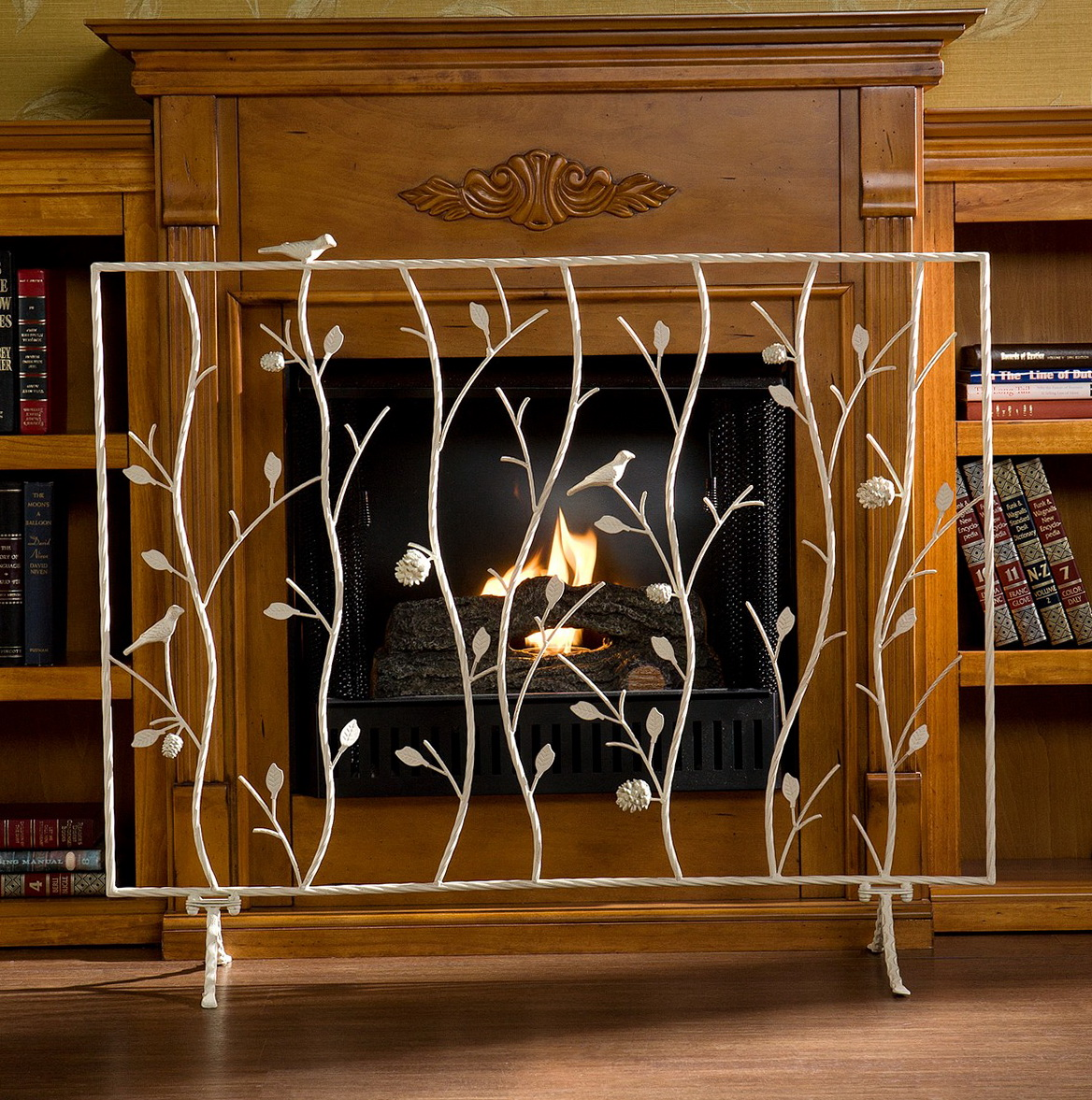 Gas Fireplace Safety Screen