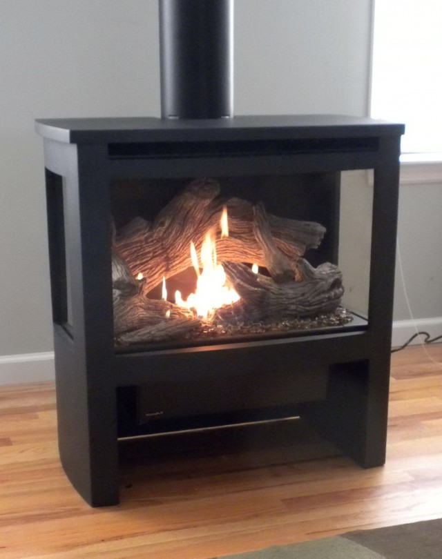 gas fireplace stoves for sale