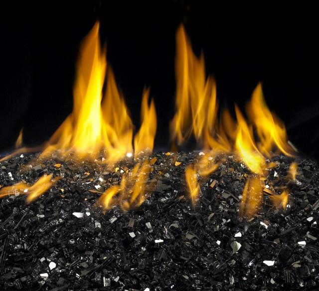 Glass Rocks For Fireplace