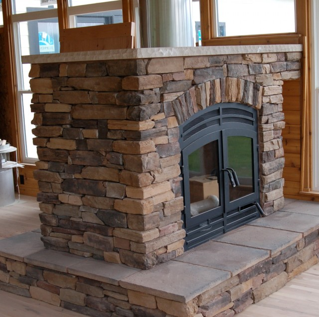 Indoor Stone Fireplace Kits indoor gas fireplace kits | home design ideas