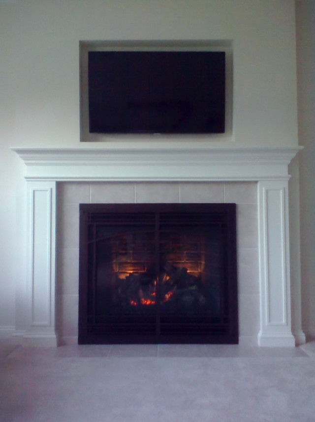 Installing Tv Above Gas Fireplace Home Design Ideas