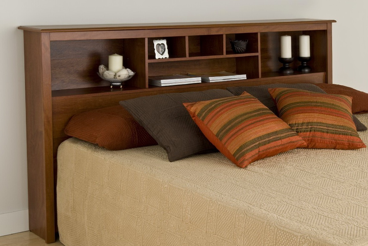 Permalink to King Size Bookcase Headboard Plans
