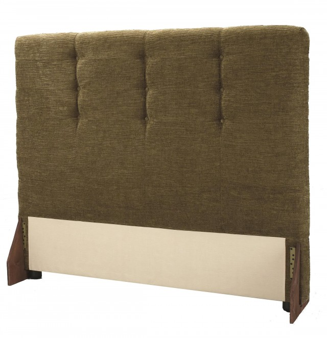 Padded Headboard Queen Size Bed