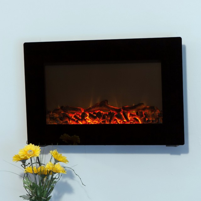 Pics Of Wall Mounted Fireplaces