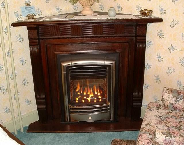 Propane Fireplace Corner Unit