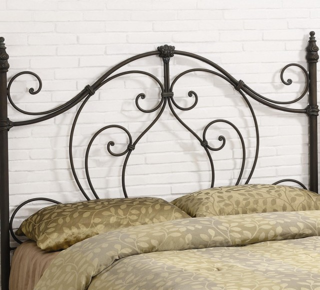Queen Iron Headboard Only
