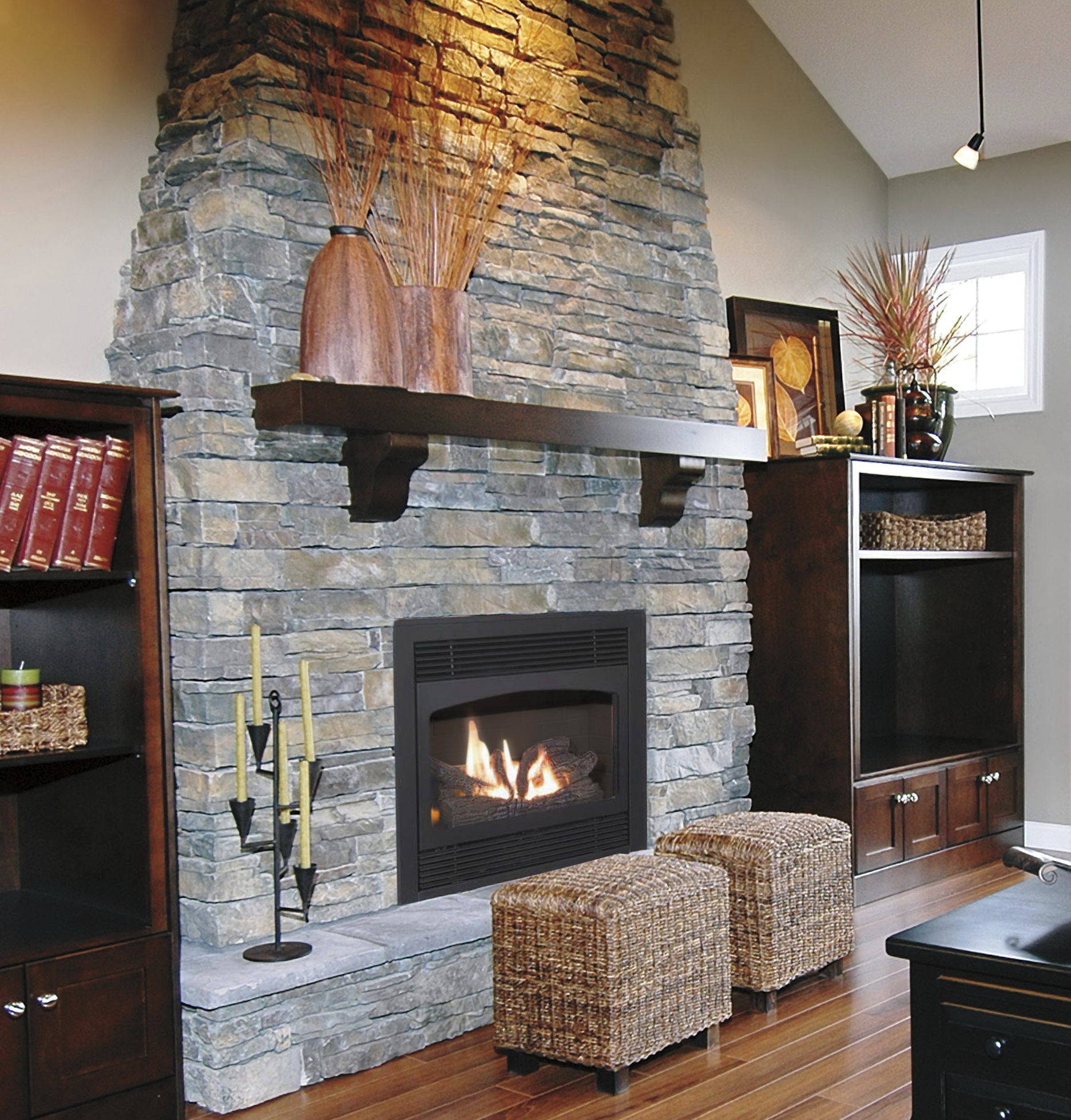 fireplace on remote watch skytech off control a youtube