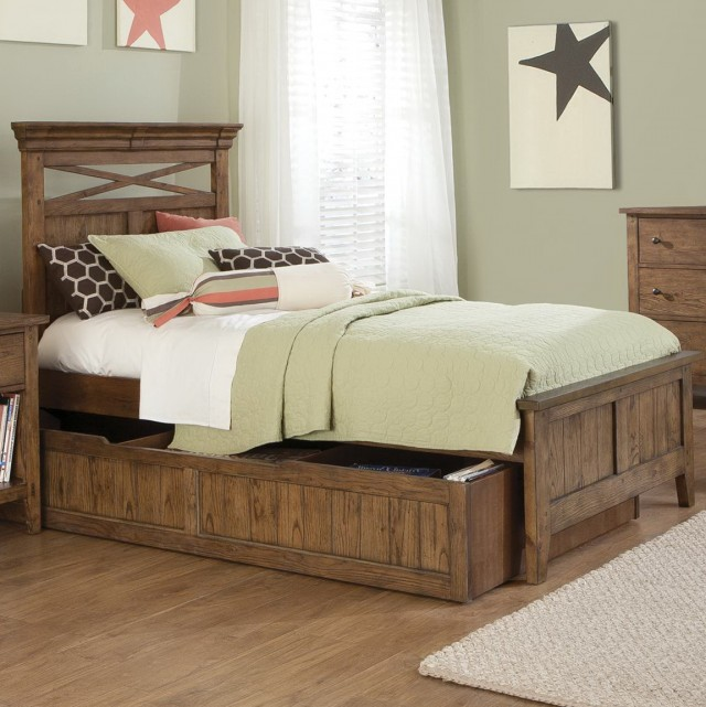 Twin Bed Frame With Headboard And Drawers