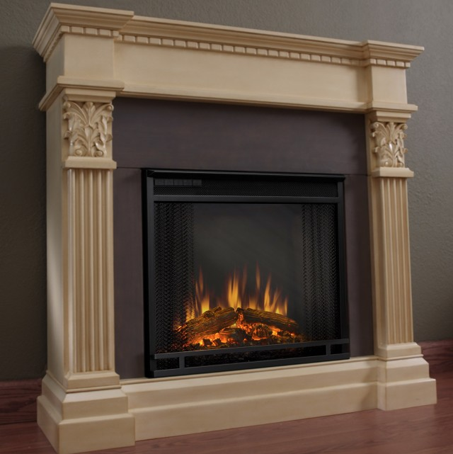 Vintage Looking Electric Fireplaces