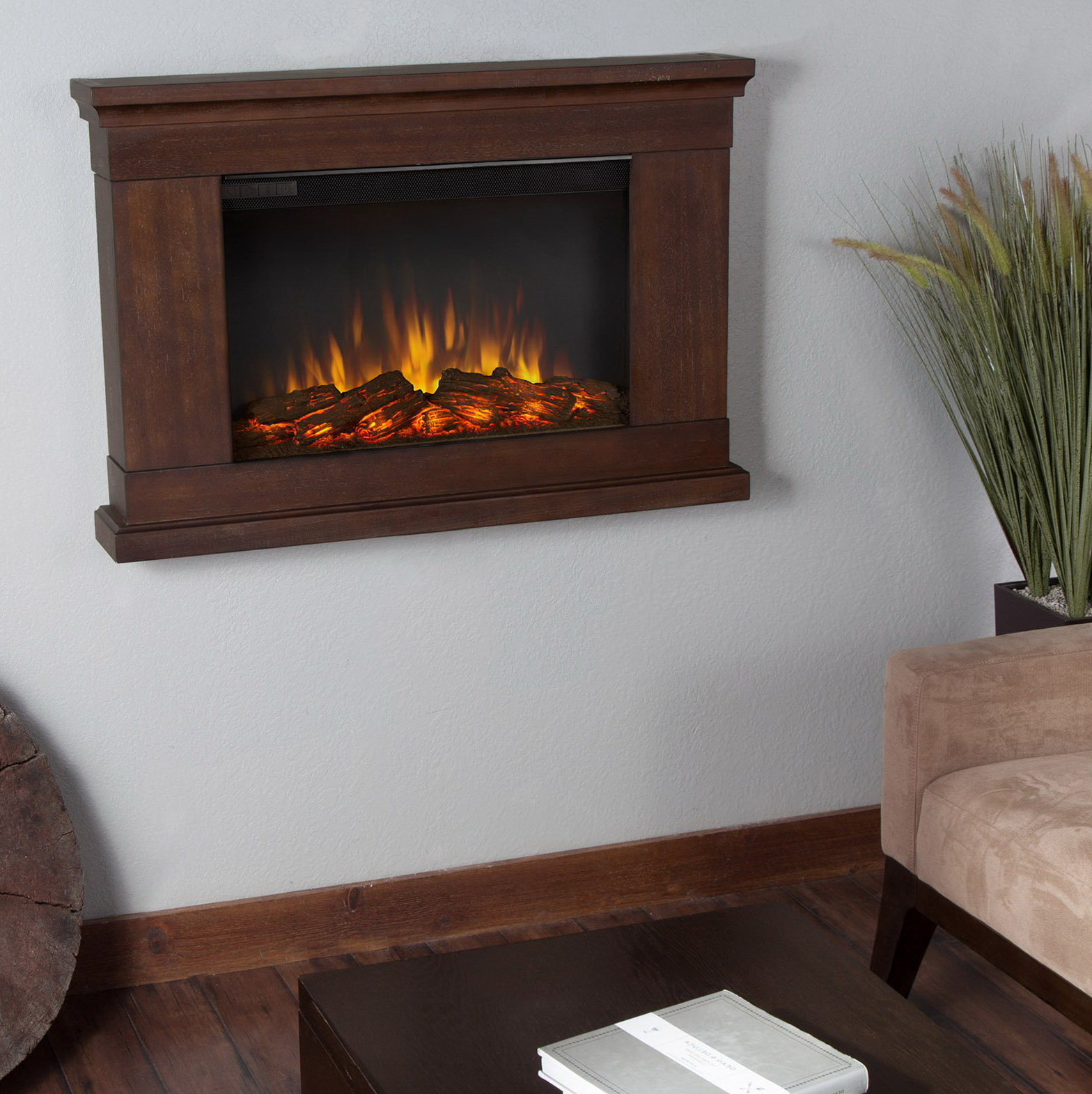 Vintage Style Electric Fireplace Home Design Ideas
