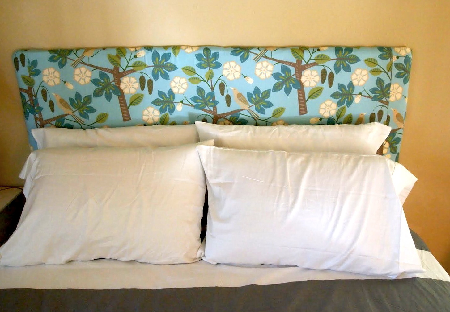 wall mount headboard diy home design ideas