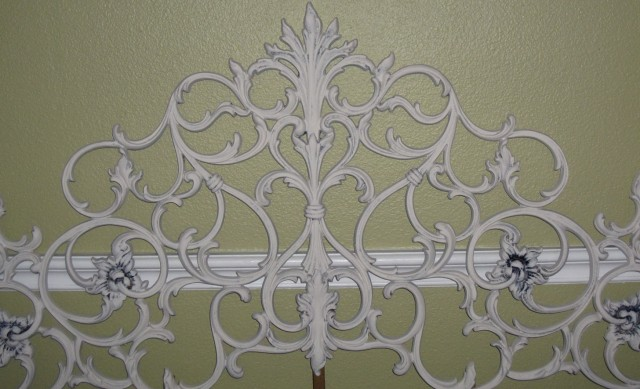 rod iron headboard footboard white wrought king size headboards queen bed