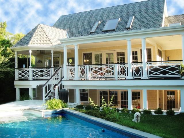 2 Story Wrap Around Porch House Plans