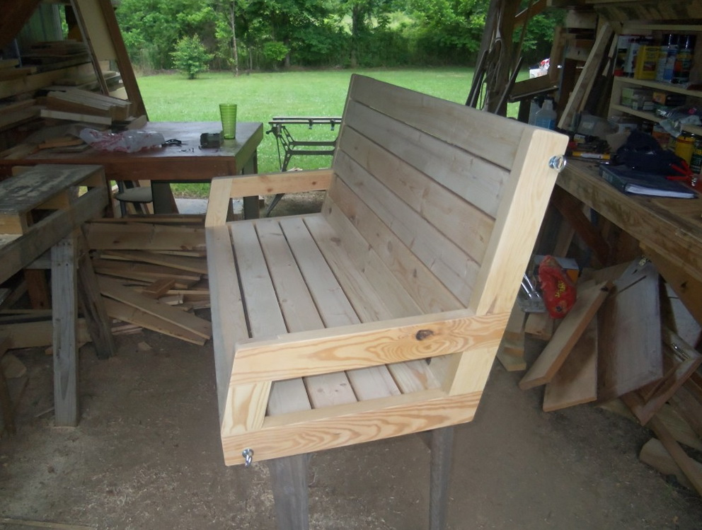 Permalink to 2×4 Porch Swing Plans