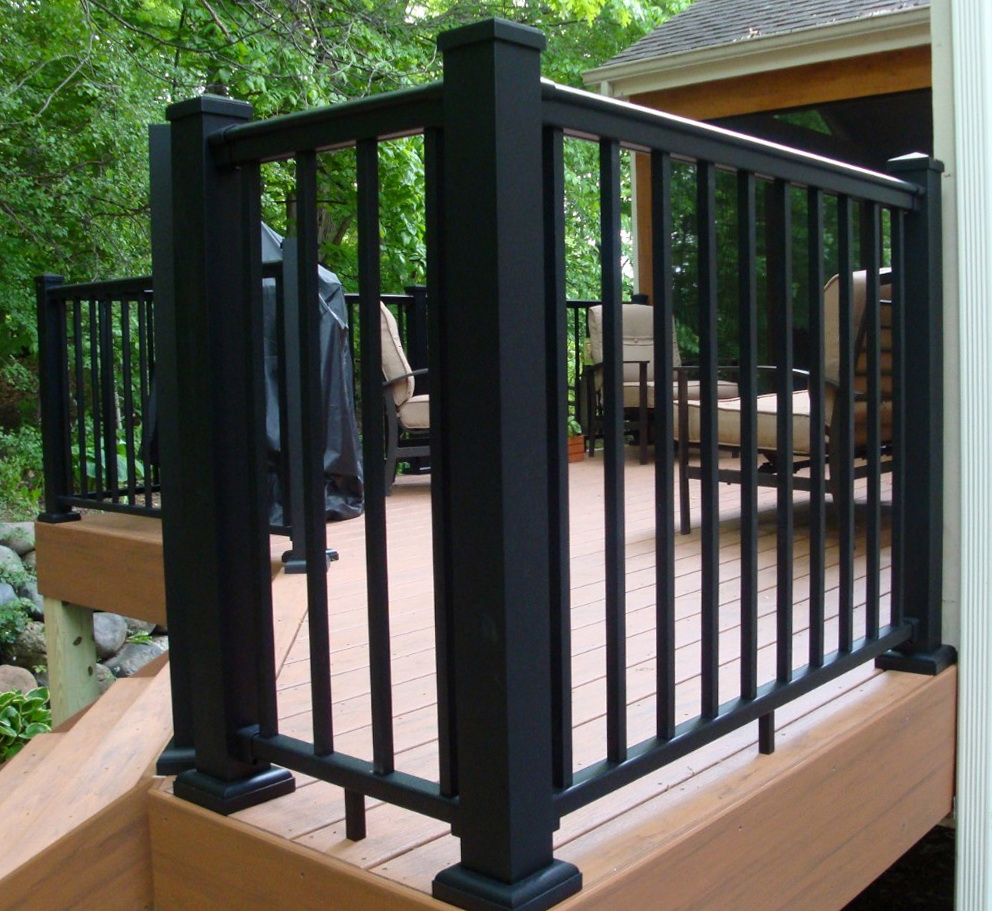 aluminum porch railing systems home design ideas