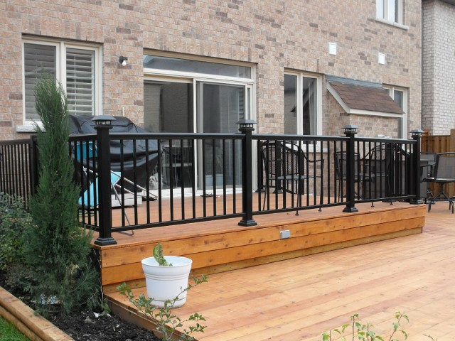 Aluminum Porch Railings Design